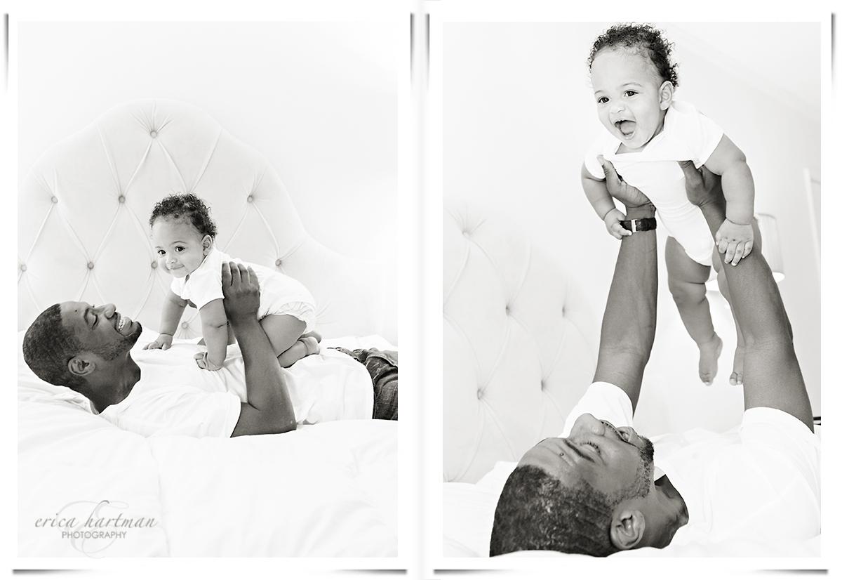 Toluca Lake base child photography and family portrait studio